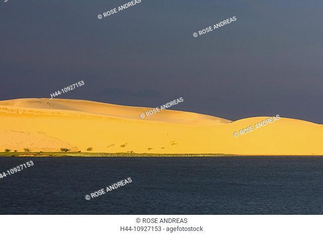 Asia, dune, dunes, landscape, South-East Asia, South Vietnam, sand dune, sand dunes, Vietnam, white desert, desert, landscape, Mui Ne
