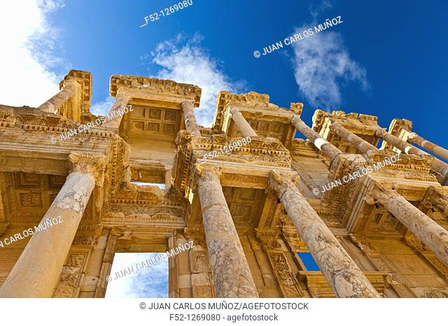 Library of Celsus, Efeso, Mediterranean Sea, Region IZMIR ESMIRNA, SELÇUK, TURKEY