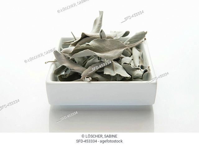 Dried white sage