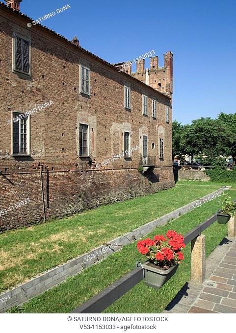 Belgioioso castle - Belgioioso - Pavia province - Lombardy - Italy