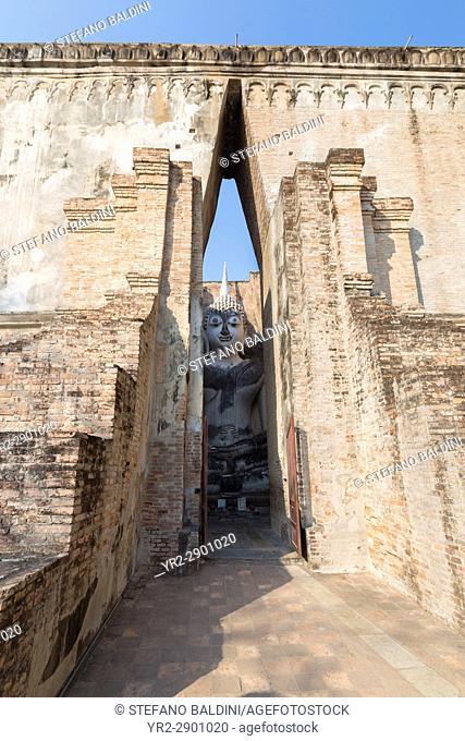 Wat Si Chum, Sukhothai Historical Park, Sukhothai, Thailand
