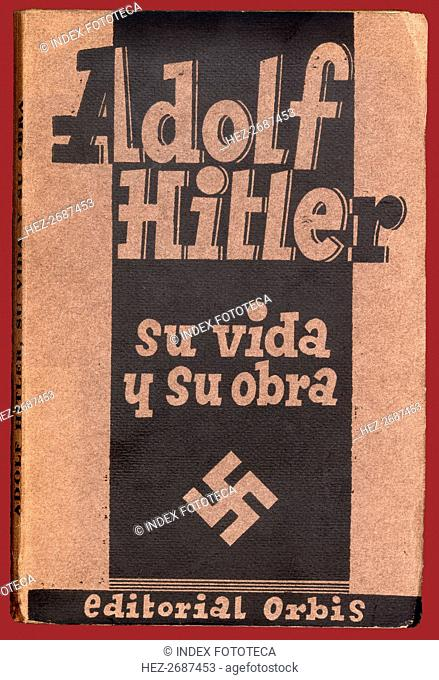 Cover of the book 'Adolf Hitler. His life and work' by Erich Beier-Lindhardt. Published in Barcel?