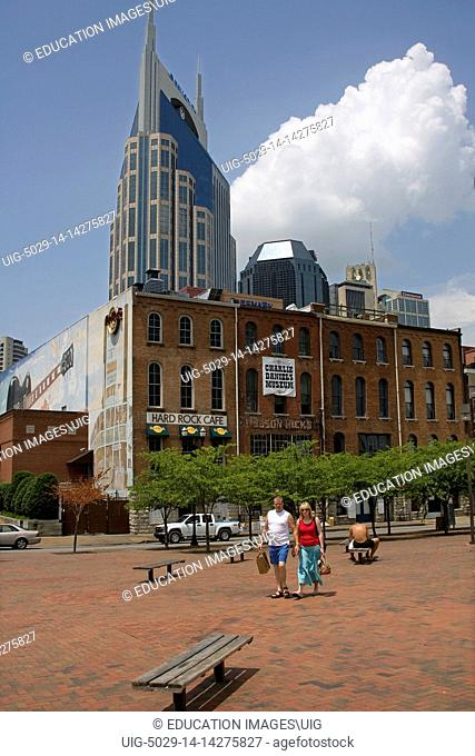 The AT&T Building Downtown Nashville, Tennessee, USA