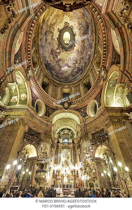 St. Peter catholic church. Vienna Austria