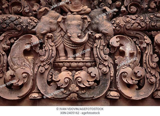 Banteay Srei temple (967), Angkor, Cambodia