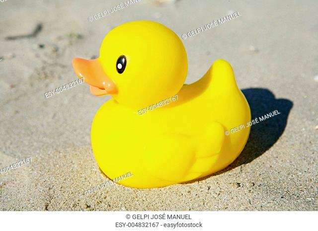 Yellow toy duck