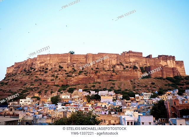 Meharangarh Fort in Jodhpur, Rajasthan India