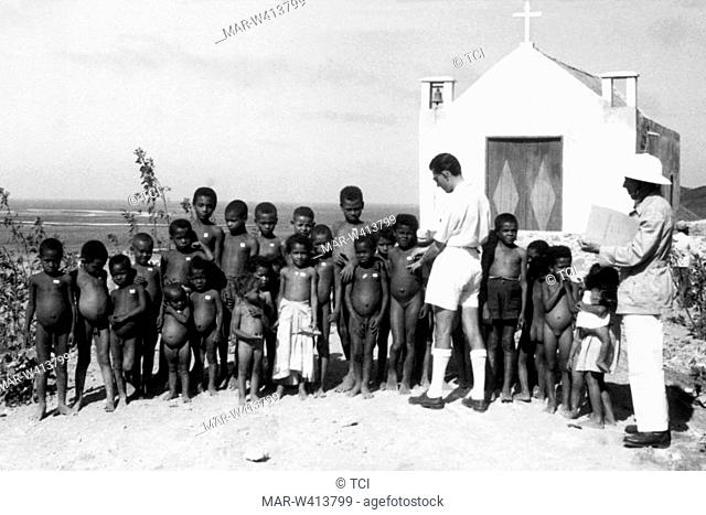 Africa, Capo Verde, malaria prophylaxis, 1930-40