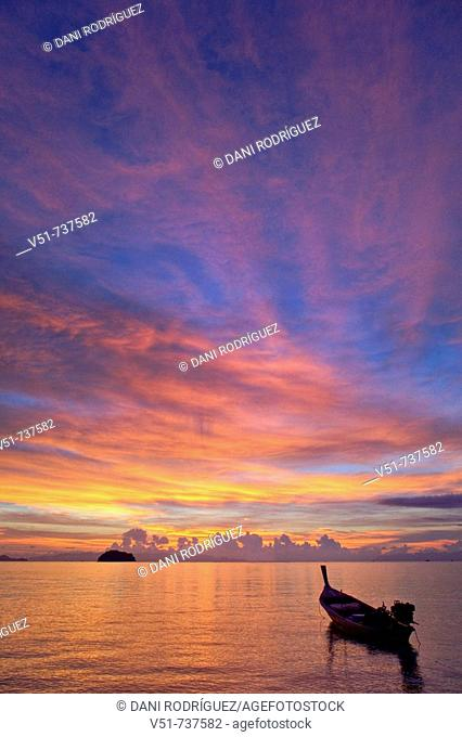 Dawn in Koh Lipe, Thailand