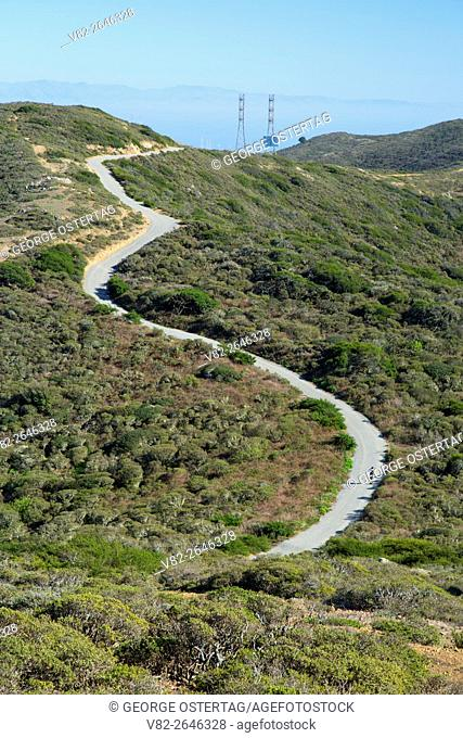 Ridge Trail, San Bruno Mountain State Park, California