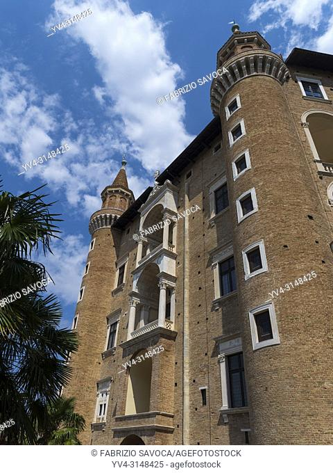 Ducal Palace, Urbino, Marche, Italy