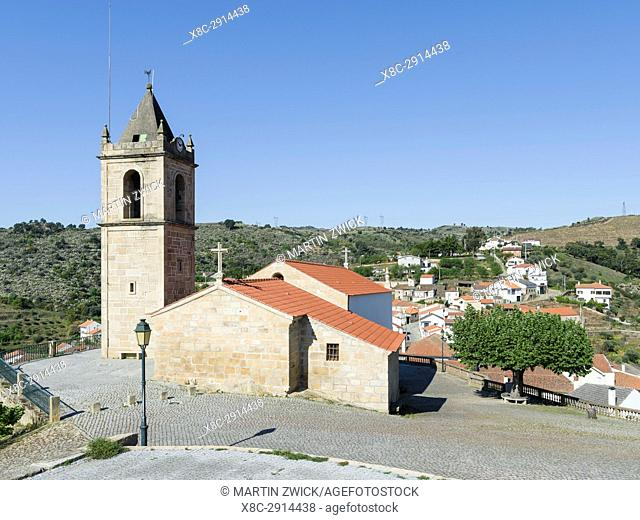 Village Longroiva near Meda, located on the hills high above river Douro. The valley of river Douro. It is the wine growing area Alto Douro and listed as UNESCO...