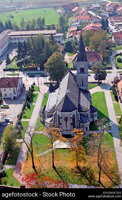 Parish Church of St. Martin in Dugo Selo, Croatia