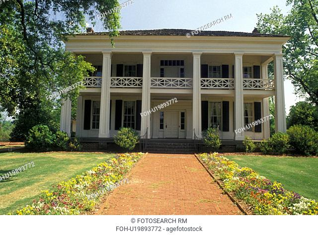 mansion, Birmingham, AL, Alabama, Arlington Antebellum Home and Gardens in Birmingham