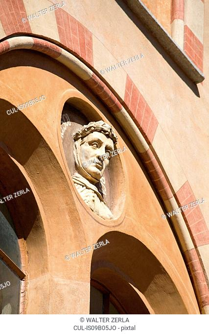 Architectural detail, Langhe, Piedmont, Italy