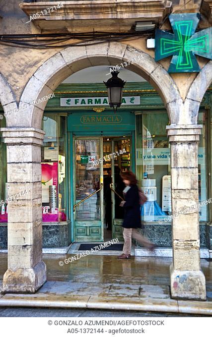 F, Pilar Camino Oyague Farmacy, Aviles, Asturias, Spain