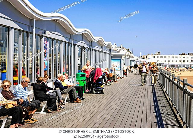 The new Grand Pier at Weston Super Mare N. Somerset