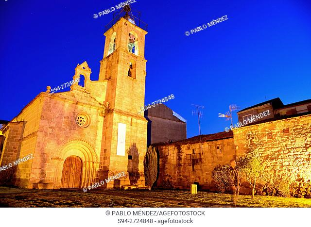 Church of Santa Mariña in Xinzo de Limia, Orense, Spain