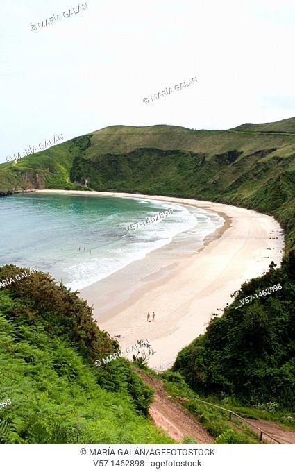 Torimbia beach. Niembro, Asturias province, Spain