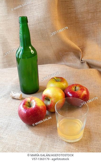 Cider. Asturias, Spain