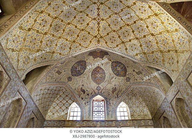 Iran, Isfahan, Ali Qapu palace