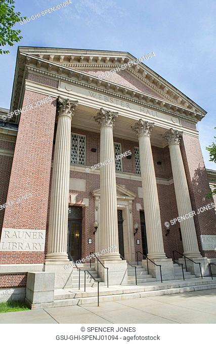 Webster Hall Rauner Library, Dartmouth College, Hanover, New Hampshire, USA