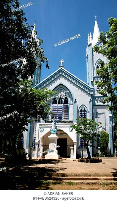 Philippines Palawan Puerto Princesa The cathedral