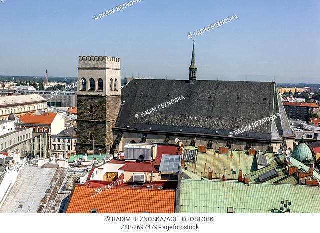 St. Maurice Church, Olomouc Region Hana, South Moravia, Czech Republic
