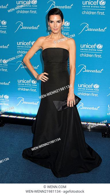 Unicef Snowflake Ball 2014 Featuring: Angiel Harmon Where: New York, New York, United States When: 02 Dec 2014 Credit: WENN.com