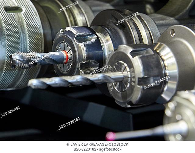Toolbox, Cutting tools, Machining, Machining Center, CNC, Machine tools, Gipuzkoa, Basque Country, Spain, Europe