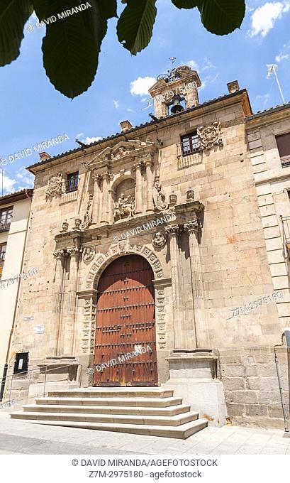 Parroquia de San Martín. Salamanca. Ciudad Patrimonio de la Humanidad. Castilla León. España