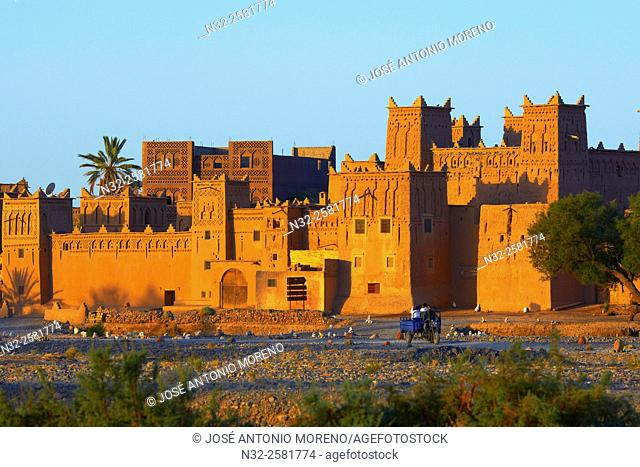 Amerhidil, Amridil, Old Kasbah, Skoura, Ouarzazate Region, Morocco, Africa