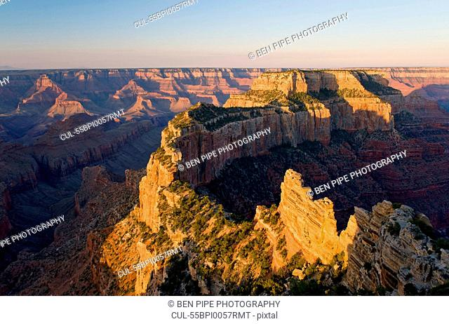 Dawn over North Rim, Grand Canyon National Park, Arizona, USA