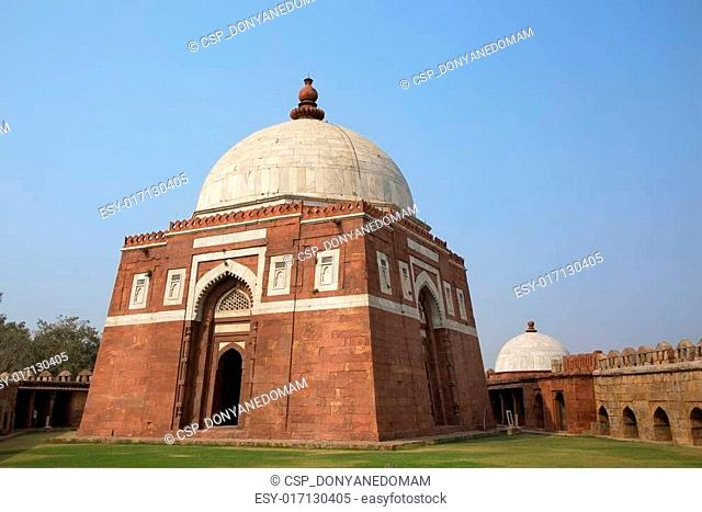 Mausoleum of Ghiyath al-Din Tughluq, Tughlaqabad Fort, Delhi, In