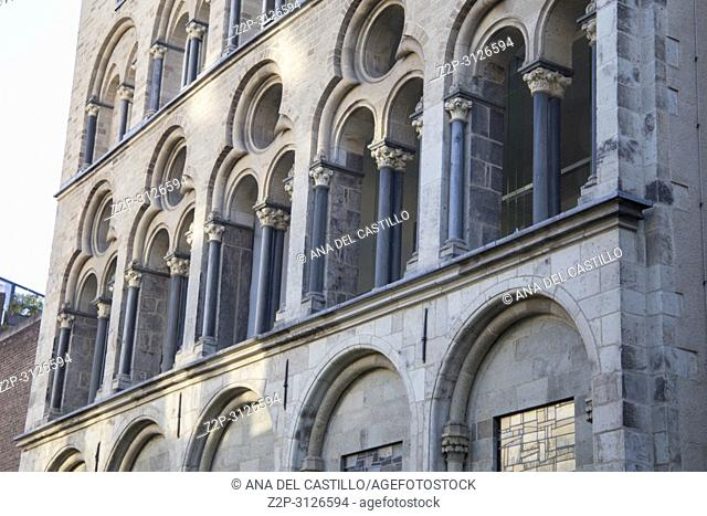 Monumental building in Cologne Germany
