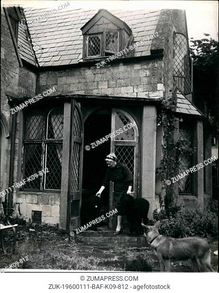 1968 - A Root of England's History Is Leased By An American: Magna Carta Island And Its Old House Taken Over By Miss Alberto Bigelow American authoress