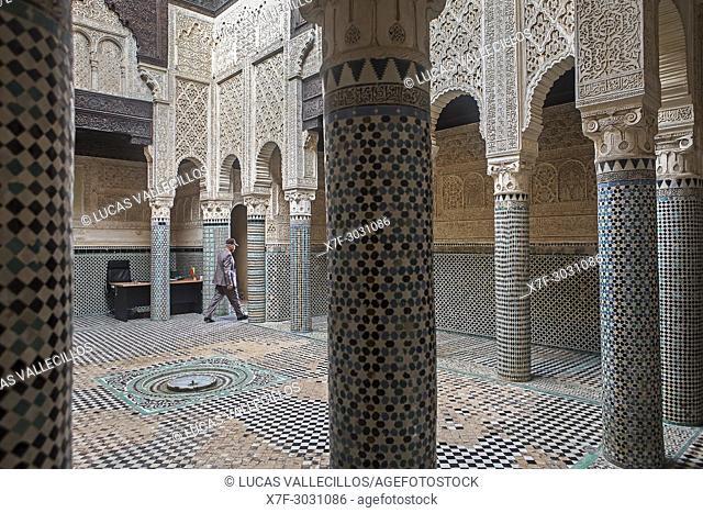 Medersa Abu al-Hassan, Sale, near Rabat, Morocco