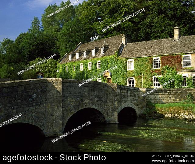 The Swan Hotel, Bibury, Gloucestershire, England