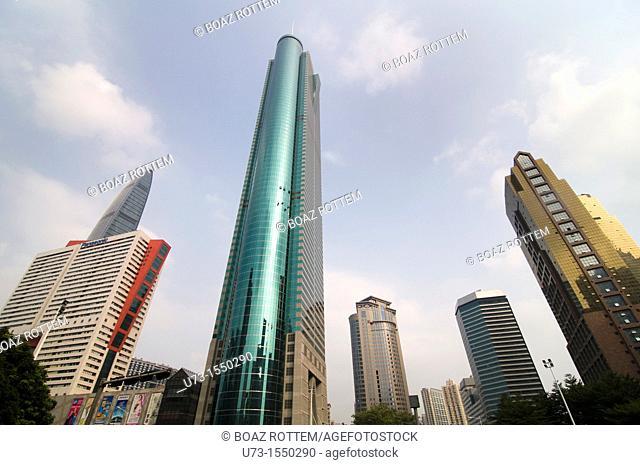 Skyscrapers in Shenzen, China