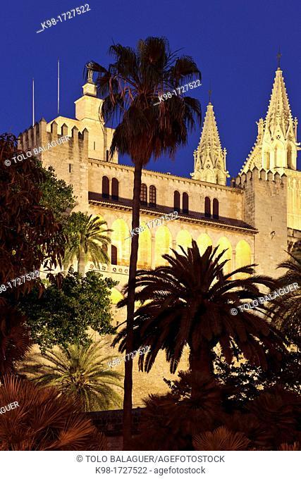 Royal Palace of Almudaina, XIII-XXI centuries Palma Mallorca Balearic Islands Spain