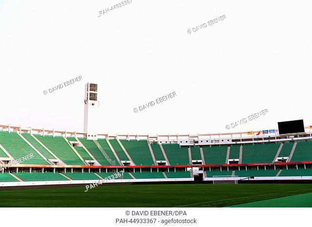 "The stadium""""Stade Adrar"""" in Agadir, Morocco, 20December 2013. FCBayern Munich will play in the semi-final of the ClubWorld Cup in Agadir on 17 December..."