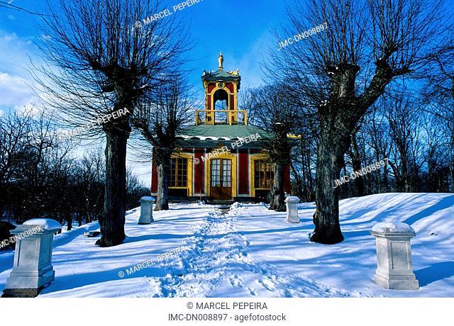 Sweden, Stockholm, island of the Malar island, castle of drottningholm