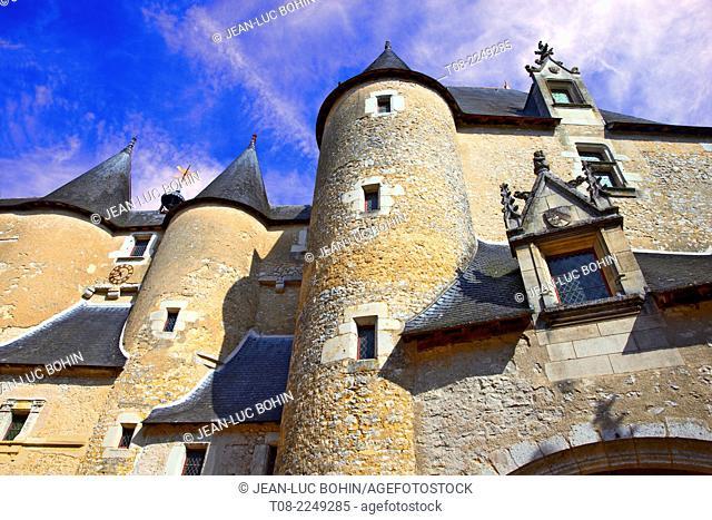 france,41, loire castles : fougères-sur-bièvres castle