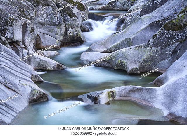 Garganta de los Infiernos, Jerte Valley, Cáceres, Extremadura, Spain, Europe