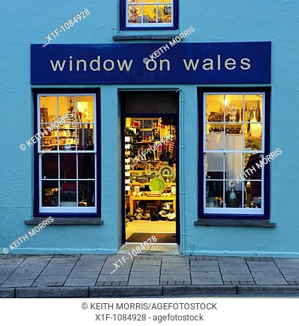 Window on Wales art and crafts gallery St Davids city, Pembrokeshire wales UK