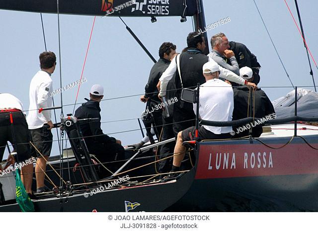 Luna Rossa, #46, Owner: Patrizio Bertelli, Sail nr: ITA46, Yacht Club Circulo Della Vela Sicilia, Builder: Persico; Rolex TP 52 World Championship