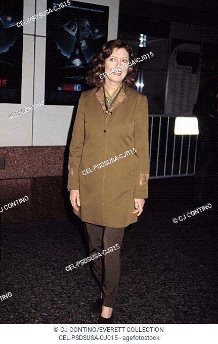 Susan Sarandon at screening of THE TRUTH ABOUT CHARLIE, NY 10/22/2002, by CJ Contino