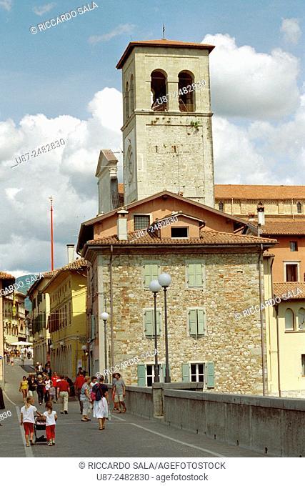 Italy, Friuli Venezia Giulia, Cividale. .