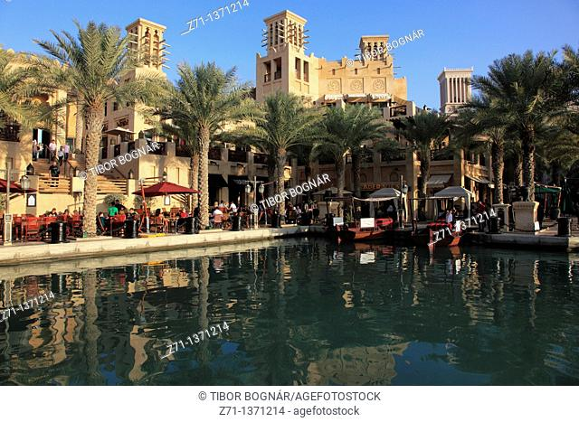 United Arab Emirates, Dubai, Madinat Jumeirah, hotel, shopping, leisure