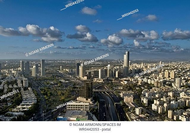 Cityscape View of Tel Aviv